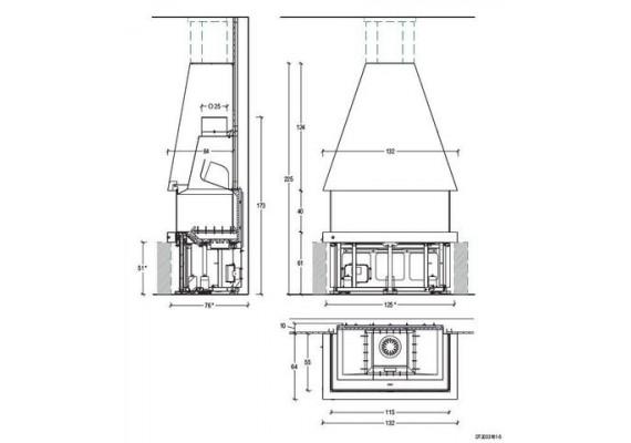 Топка Piazzetta М180 R